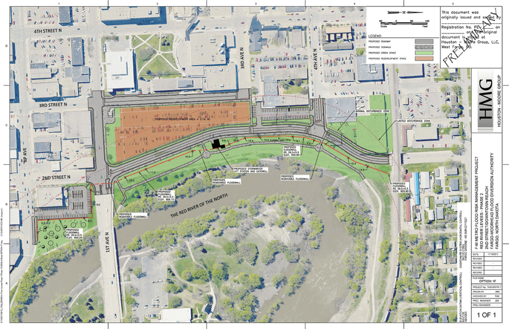 A Look at the Aesthetics of Fargo's 2nd Street Flood Protection Project