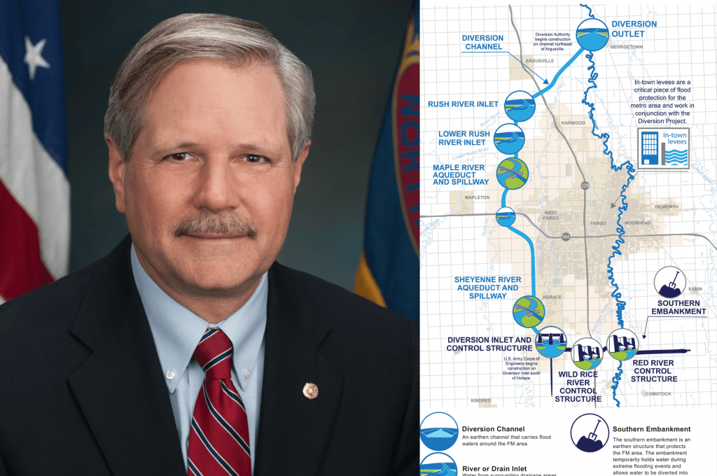 "Senator Hoeven: Diversion Project Funding Plan ""A Remarkable Opportunity"""