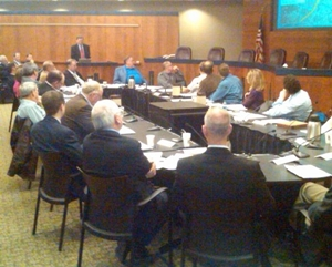 Flood Diversion Board of Authority Meeting