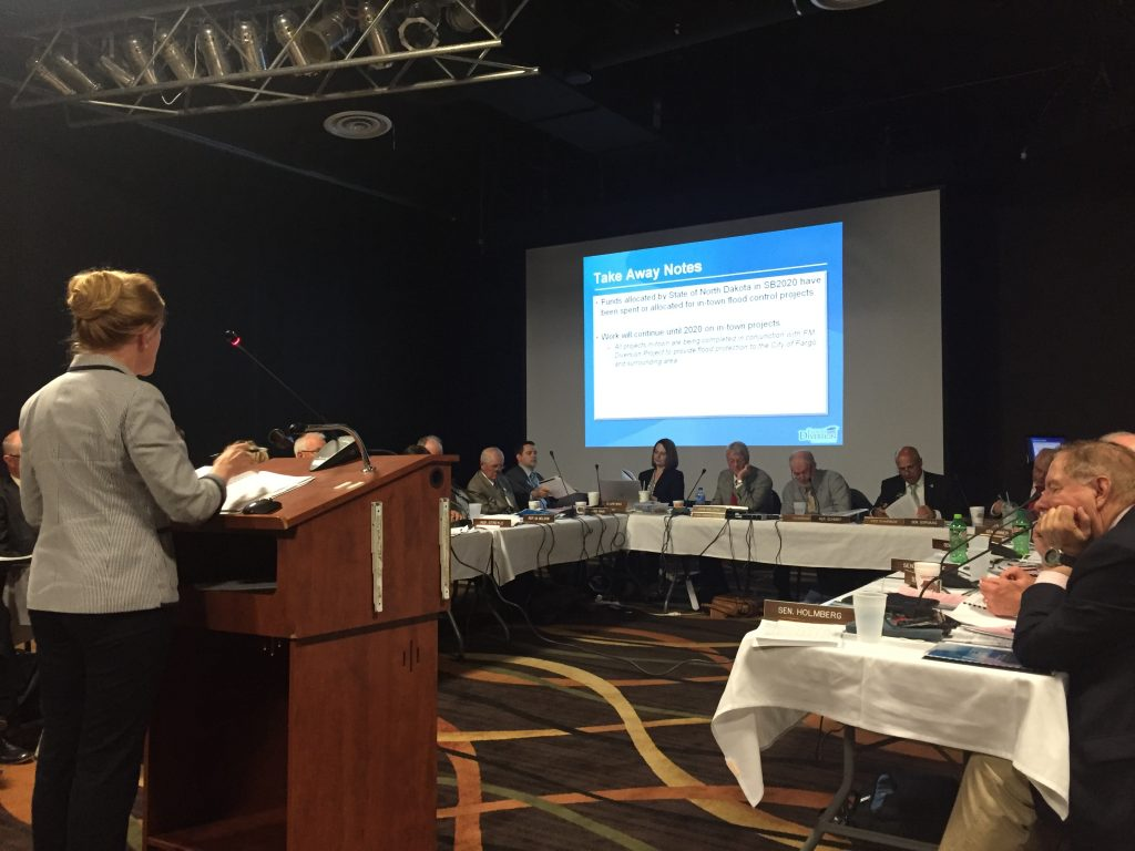 Local Representatives Advocate for Flood Protection in Bismarck ND and Washington D.C.