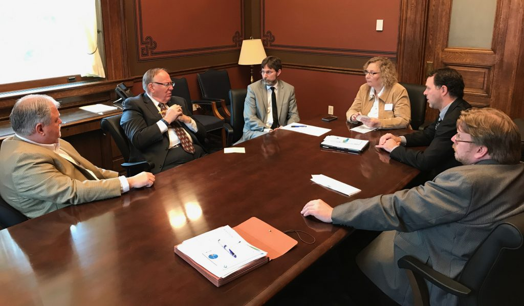 Moorhead, Clay County leaders discuss FM Area Diversion Project with Minnesota Legislators