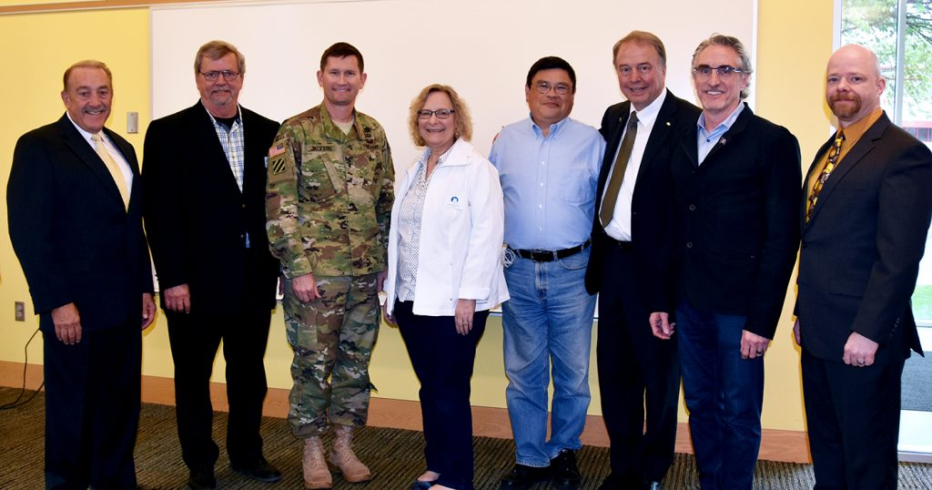General from Army Corps visits Fargo to learn about the FM Area Diversion Project, meets with Gov. Burgum