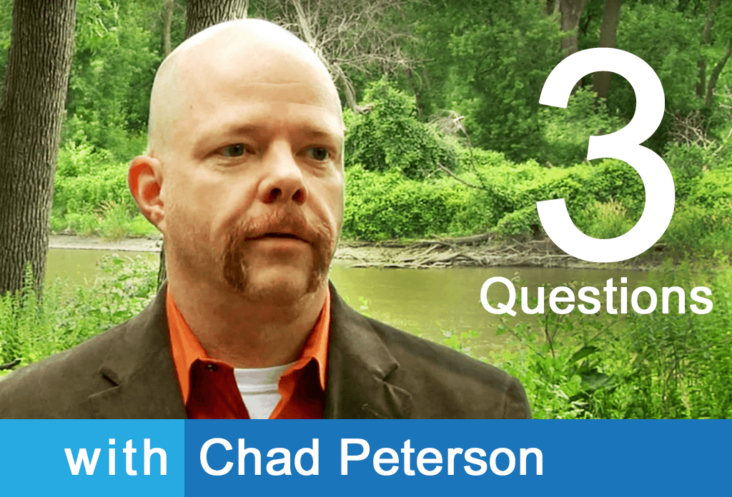 3 Questions with Chad Peterson