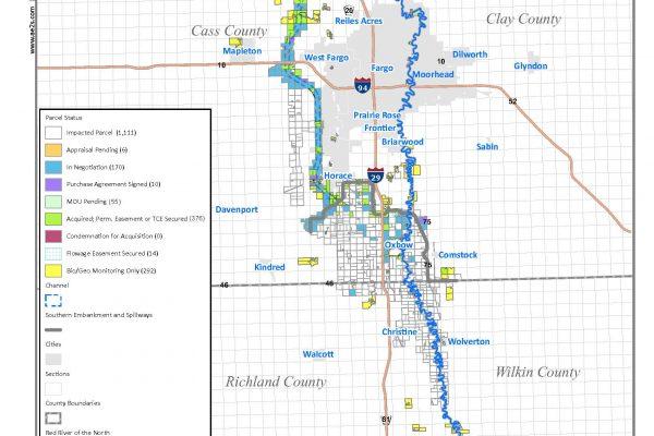 Property Acquisition Status Maps