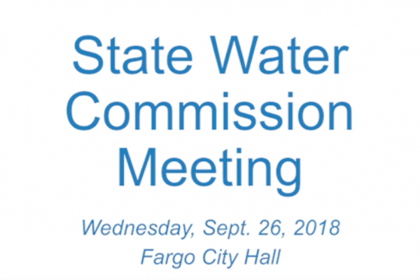 Sep. 26, 2018 State Water Commission Meeting