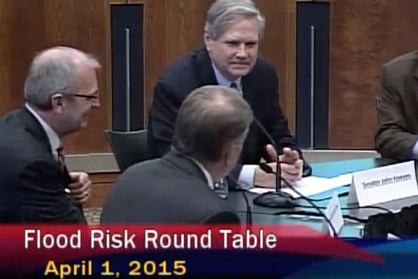 Apr. 1, 2015 Flood Rest Round Table with FEMA