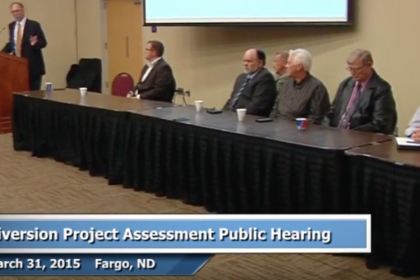 Mar. 31, 2015 Public Hearing: Diversion Project Assessment