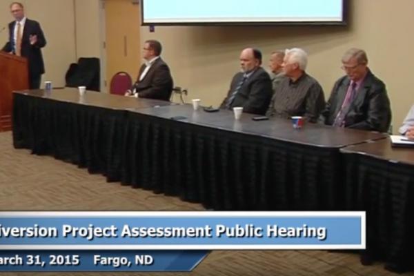 Mar. 31, 2015 Public Hearing: Diversion Project Assessment