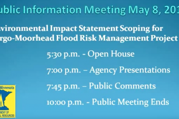 May 10, 2013 Minnesota DNR Scoping Public Meeting