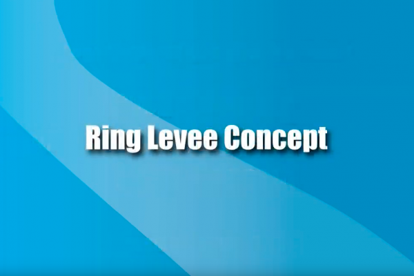 Jan. 8, 2013 Ring Levee Concept (Video 1)