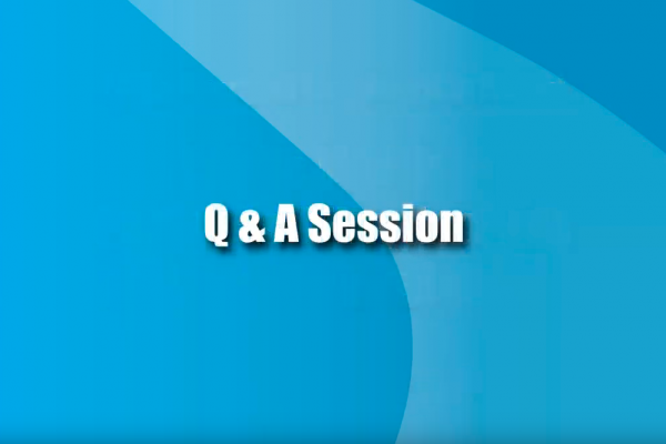 Sep. 13, 2012 Post-Feasibility Options (Video 7) Q&A Session