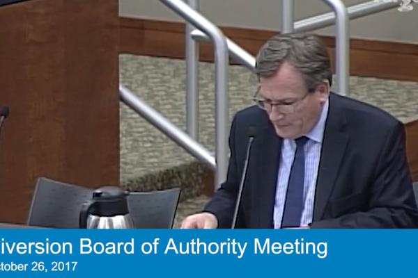 Oct. 26, 2018 Board Meeting