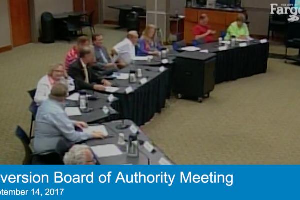 Sep. 14, 2017 Board Meeting