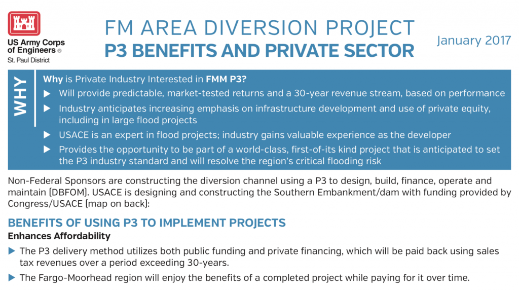 P3 Benefits for Private Sector – Jan. 2017 – U.S. Army Corps of Engineers