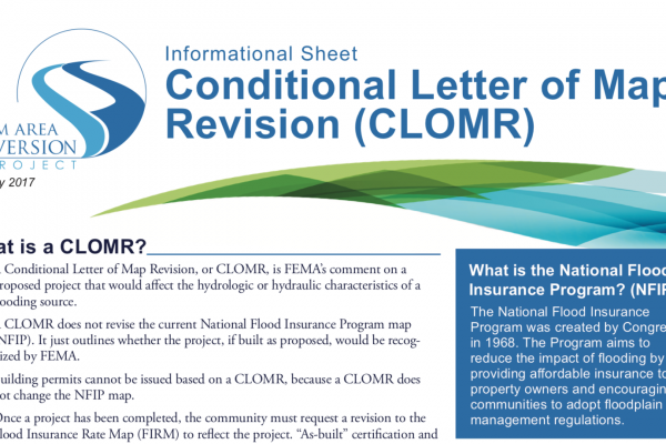 CLOMR – May 2017 – Diversion Authority