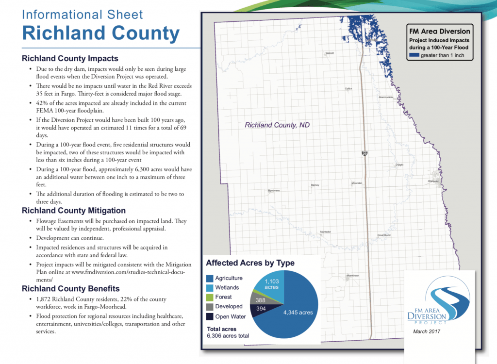 Richland County Impacts – Mar. 2017 – Diversion Authority