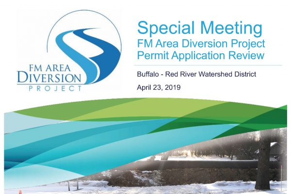 Presentation for Buffalo-Red River Watershed District Meeting