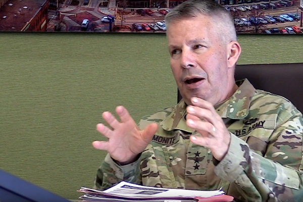 3 Questions with Lt. Gen. Todd Semonite