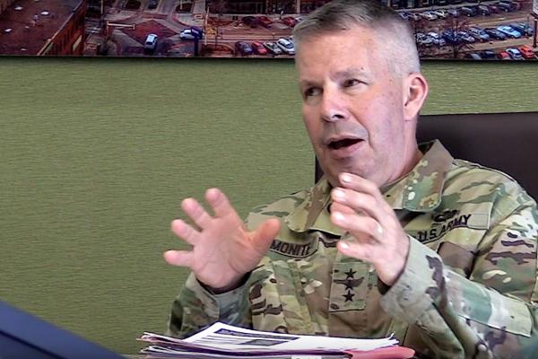 3 Questions with Lt. Gen. Todd Semonite