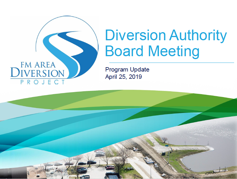 PMC Update for Diversion Board Meeting on April 25, 2019