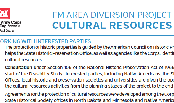 Cultural Resources – U.S. Army Corps of Engineers