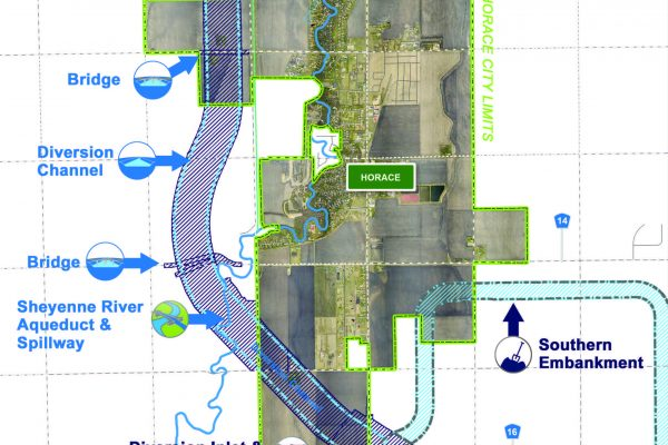Diversion Authority, City of Horace Approve Agreement  on FM Area Diversion Project