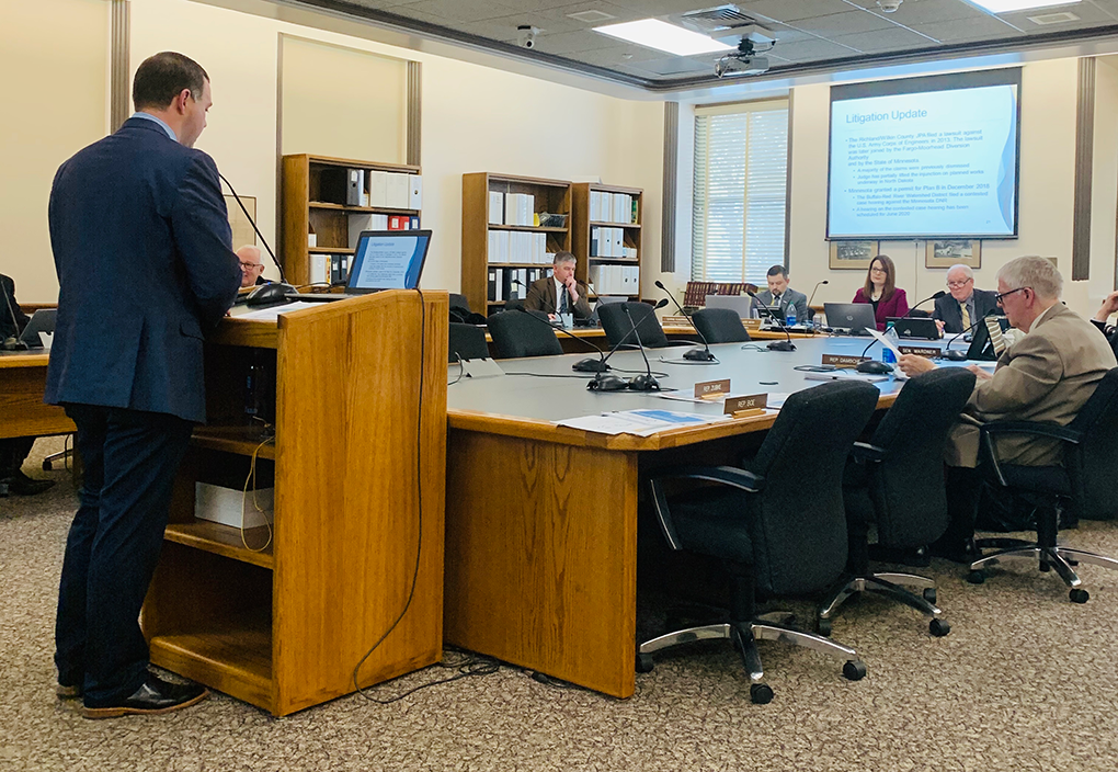 Update provided to ND Water Topics Overview Committee
