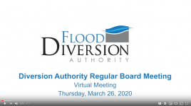 Diversion Board Meeting Video – March 26, 2020
