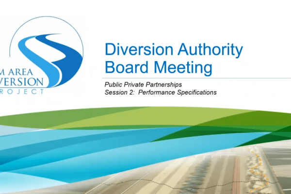 Diversion Board Meeting Video – April 17, 2020