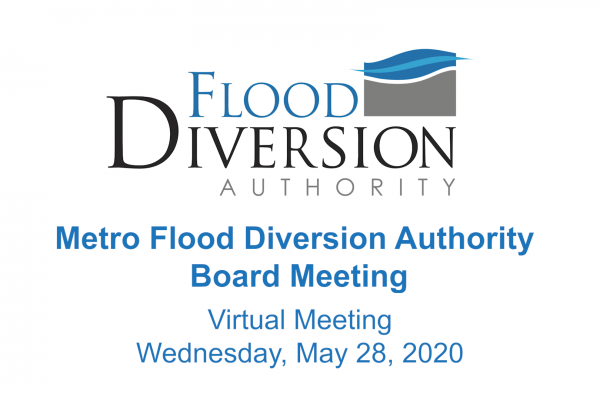 Diversion Board of Authority Meeting – May 28, 2020