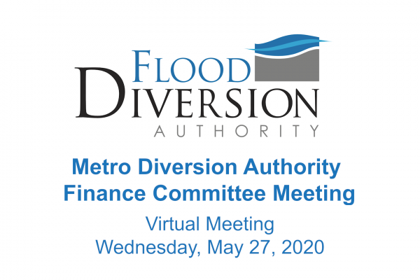 Diversion Authority Finance Committee Meeting – May 27, 2020