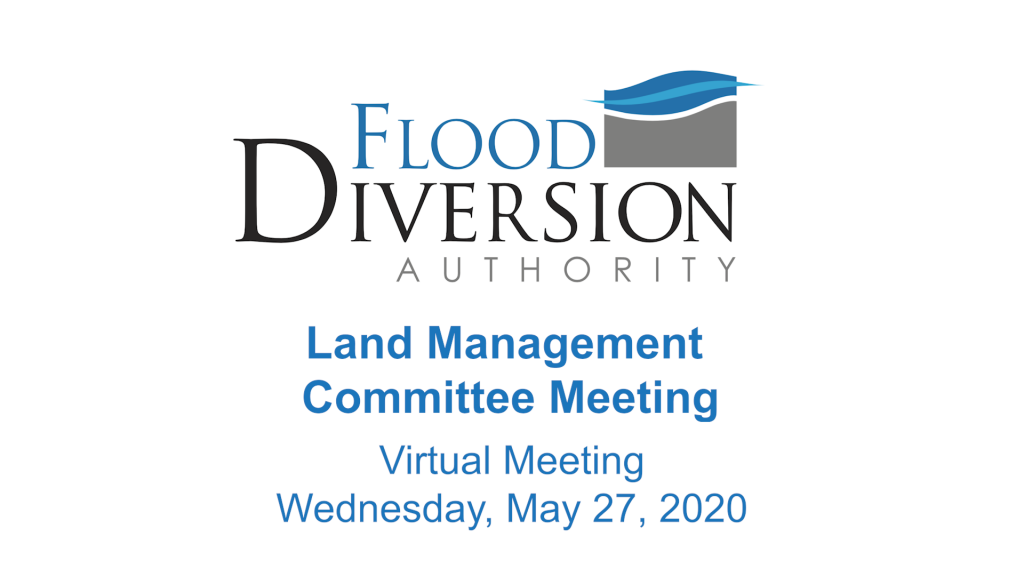 Land Management Committee Meeting – May 27, 2020