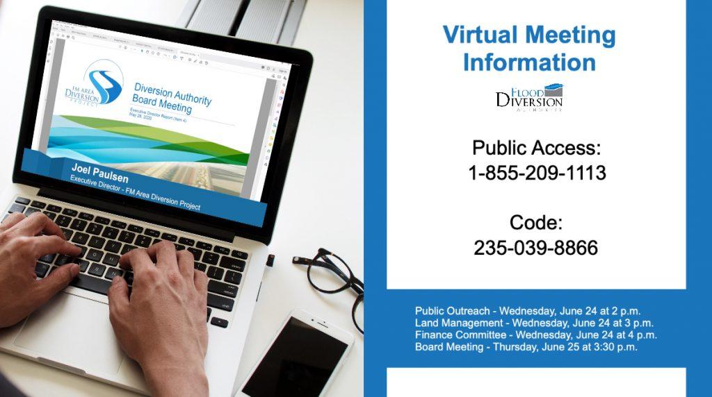 June Diversion Meetings Online