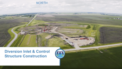 Construction Update – Diversion Inlet & Control Structure