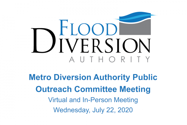 Public Outreach Committee Meeting – July 22, 2020