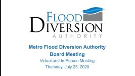 Diversion Board of Authority Meeting – July 23, 2020