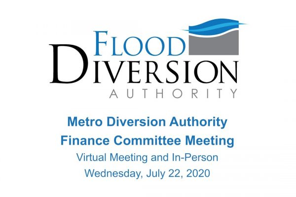 Diversion Authority Finance Committee Meeting – July 22, 2020