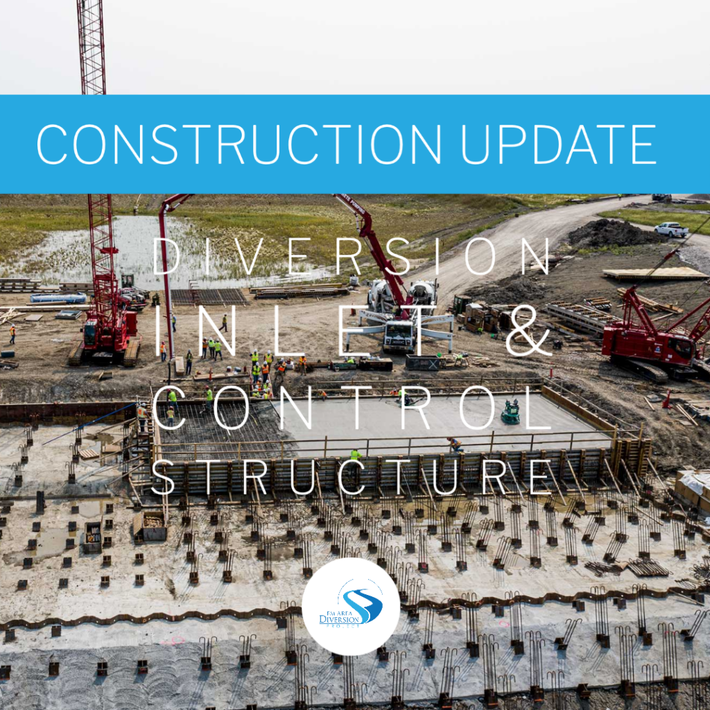 August 2020 Construction Update // Diversion Inlet & Control Structure