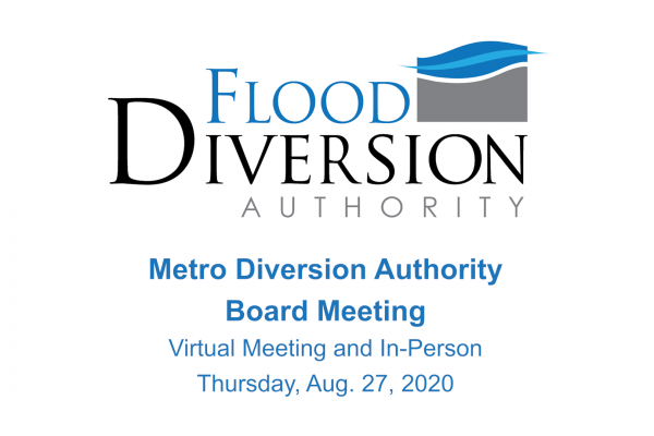 Diversion Board of Authority Meeting – August 27, 2020