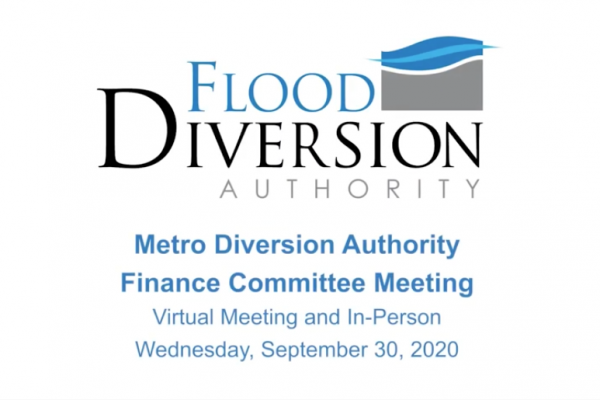 Diversion Authority Finance Committee Meeting – September 30, 2020
