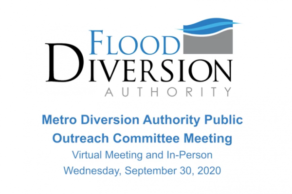 Public Outreach Committee Meeting – September 30, 2020