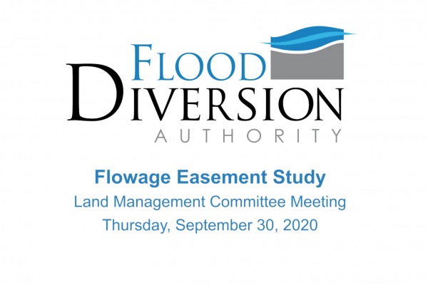 Flowage Easement Study Presentation – September 30, 2020