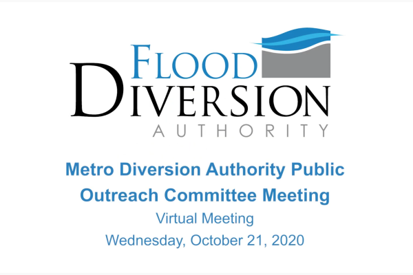 Public Outreach Committee Meeting – October 21, 2020