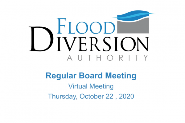 Diversion Board of Authority Meeting – October 22, 2020