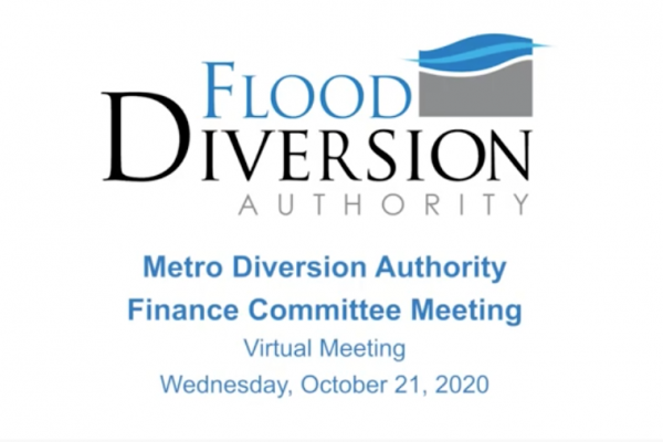 Diversion Authority Finance Committee Meeting – October 21, 2020