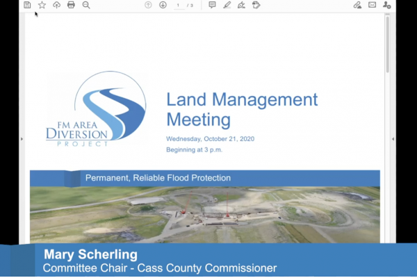 Land Management Committee Meeting – October 21, 2020