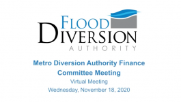 Diversion Authority Finance Committee Meeting – November 18, 2020