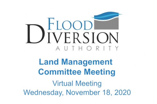 Land Management Committee Meeting – November 18, 2020