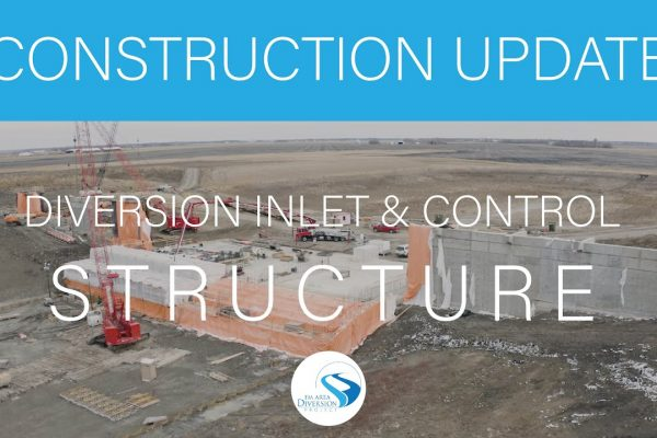 Construction Update // November 2020 Inlet and Control Site Flyover