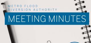 Metro Flood Diversion Authority Meeting Minutes – September 23, 2021